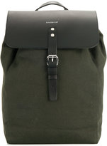 SANDQVIST leather flap backpack