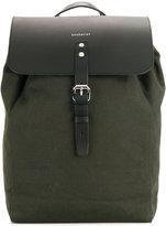 SANDQVIST leather flap backpack