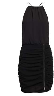 Halston Sleeveless Scoop Neck Cami Dress