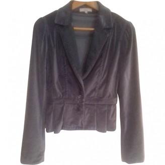Essentiel Antwerp Blue Velvet Jacket for Women
