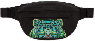 Kenzo Black Mini Kampus Tiger Bum Bag
