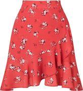 Miss Selfridge Petite Floral Printed Skirt