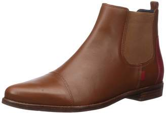 Marc Joseph New York Women's Leather Made in Brazil Pointed Toe Ankle Boot