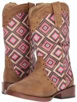 Roper Glitter Geo Cowboy Boots