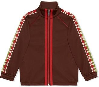 Gucci Kids Children's technical jersey jacket