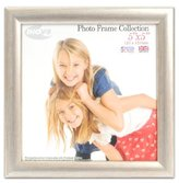 Inov-8 Inov8 British Made Traditional Picture/Photo Frame, Square 5x5-inch, Value Silver