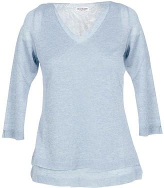Gran Sasso Ice Gray Viscose Blend Women's Sweater