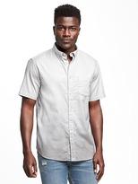 Old Navy Regular-Fit Stretch Oxford Shirt for Men