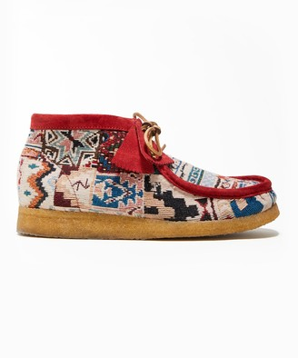 Clarks Todd Snyder x Kaleidoscopic Red Wallabee Boot