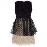 Milly Minis Jane Lace Peplum Dress