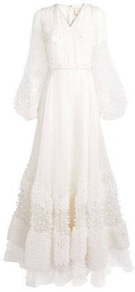 Roksanda Vayda Embroidered Gown