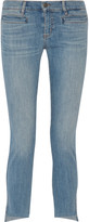 MiH Jeans Paris cropped mid-rise skinny jeans