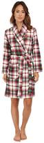 Lauren Ralph Lauren Folded Beaufort Fleece Short Robe
