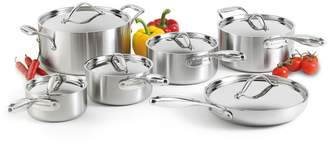 Lagostina Academy Clad 12-Piece Stainless Steel Cookware Set - Induction Ready