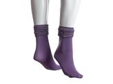 MeMoi Scrunchy Ruffle Ankle Sock