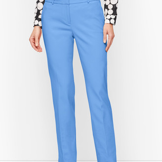 Talbots Hampshire Ankle Pants - Double Weave - Traditional Hem