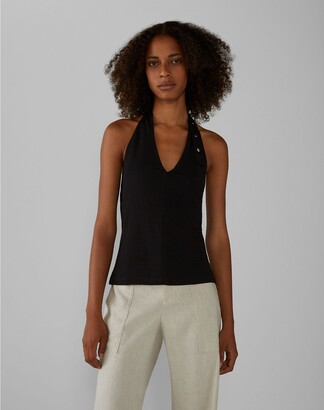 Club Monaco Halter Neck Top