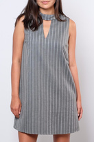 Everly Pinstripe Shift Dress