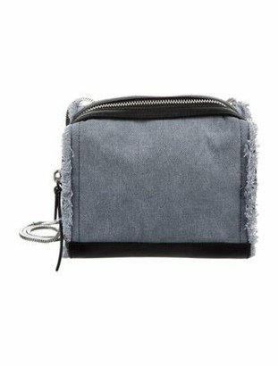 3.1 Phillip Lim Denim Soleil Mini Zip Crossbody Bag Blue
