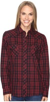 Roper 0693 Black Red Plaid Women's Clothing