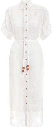 Zimmermann Kirra Embroidered Long Dress