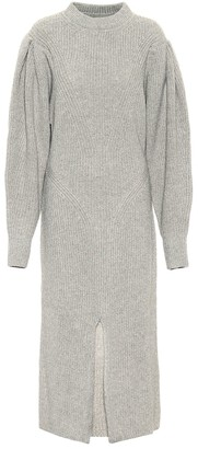 Isabel Marant Perrine cashmere and wool midi dress