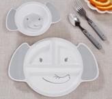 Pottery Barn Kids Animal Shaped Plate - Elephant