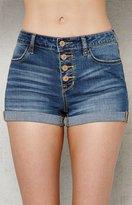 PacSun Ella Super Stretch Denim Shorts