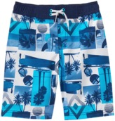 Crazy 8 Beach Pics Swim Trunks