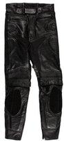 Belstaff Leather Biker Pants