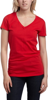 Soffe Women's V-Neck Tissue Tee
