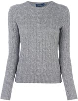 Polo Ralph Lauren cable knit v neck jumper