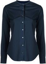 Aspesi longsleeve mandarin collar shirt - women - Cotton/Polyamide/Spandex/Elastane - 40