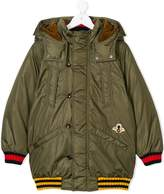 Gucci Kids embroidered bee hooded jacket