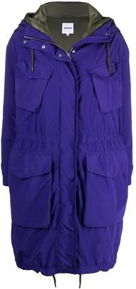 Aspesi Hooded Parka Coat