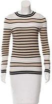 Carolina Herrera Striped Knit Top