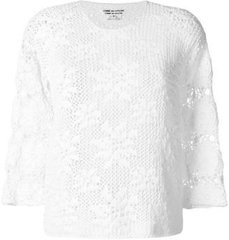 Comme des Garçons Comme des Garçons Knitted Sweater