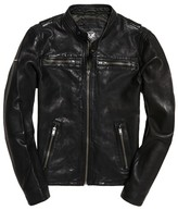 Superdry Short Leather Jacket