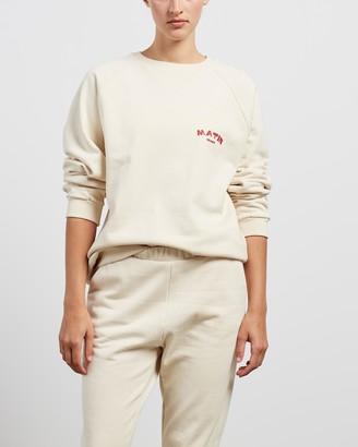 MATIN Print Sweatshirt