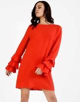 Glamorous Frill Sleeve Dress