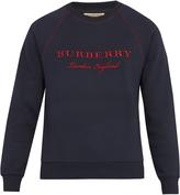 Burberry Taydon cotton-jersey sweatshirt