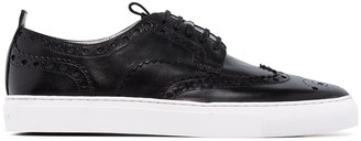 Grenson Black Leather Sneakers