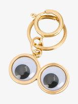 Sophie Hulme Googly Eye keychain