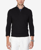 Nautica Men's Big & Tall Quarter-Zip Sweater