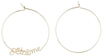 Atelier Paulin Je t'aime earrings