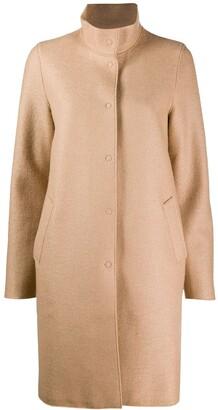 Harris Wharf London High Neck Coat