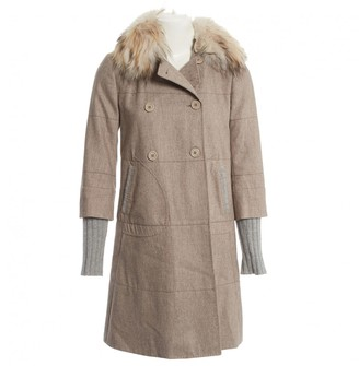 Brunello Cucinelli Grey Cashmere Coats