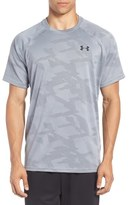 Under Armour Regular Fit Tech Jacquard T-Shirt