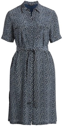 Lafayette 148 New York, Plus Size Doha Short Sleeve Shirtdress