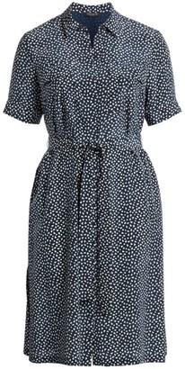 Lafayette 148 New York, Plus Size Doha Short Sleeve Shirtdress